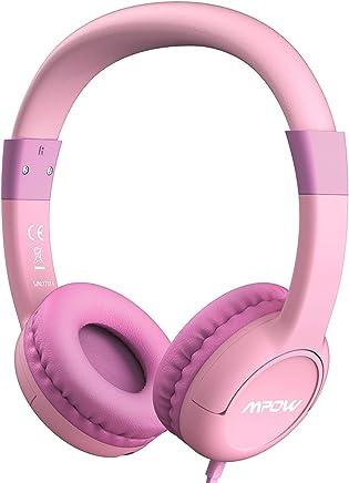 Mpow Kopfhörer Kinder, Kopfhörer für Kinder mit Lautstärke- und Mikrofonsteuerung, 85dB Lautstärke Begrenzung Gehörschutz und Musik-Sharing, Material in sicherer Lebensmittelqualität
