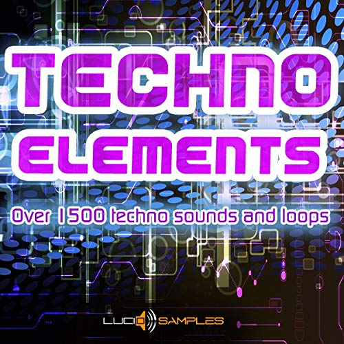 Techno Elements - Over 1500 Techno Sounds and Loops | WAV Files (24Bit) | DVD non Box