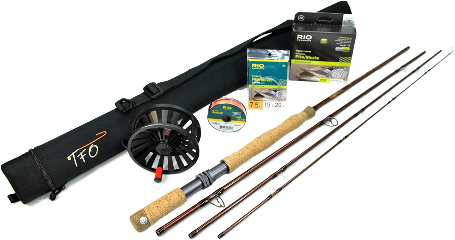 TFO Esox Fly Rod Outfit (12wt, 9'0, 4pc)