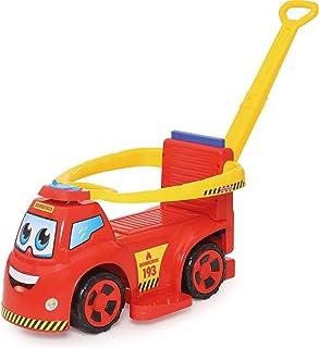 Veiculo para Bebe Big Truck Bombeiros 3X1 Merco Toys