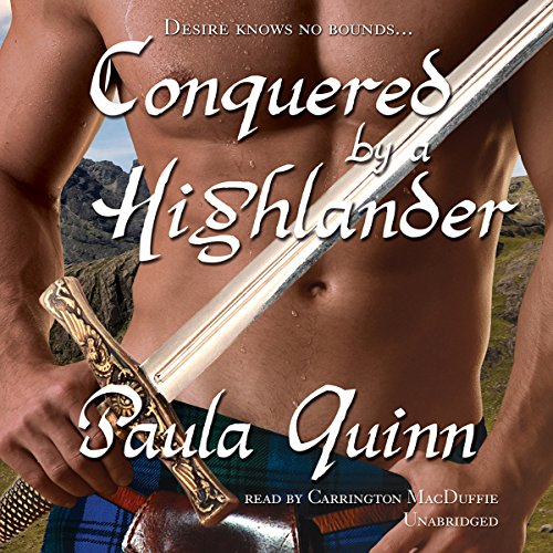 Conquered by a Highlander audiobook cover art
