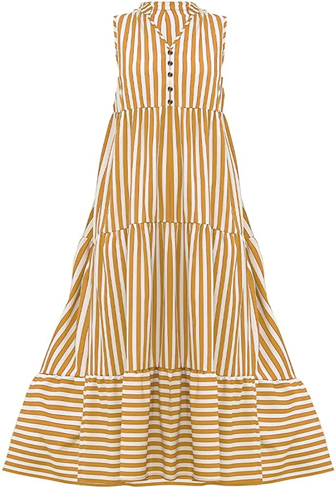 Summer V-Neck Striped Max 83% OFF Button Cheap mail order specialty store Item No.JT03-001 Dress Stitching