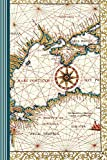 Historical Cartography - Mare Ponticum - Antique Terrestrial Map: World Map Atlas Geography Terrestrial Globe Black Sea Latin Greece Cartographer ... Composition Notebook 150 Pages Lined 6'x9'