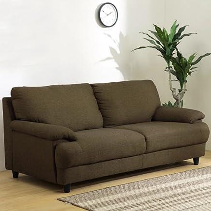 Furny Darren Three Seater Sofa (Brown)