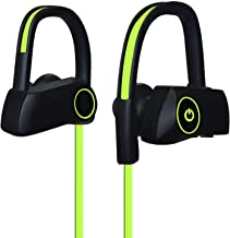 WeCool D200 Bluetooth 4.1 Sports Headphones with Mic for iOS, Andorid, Windows Phones (Green)