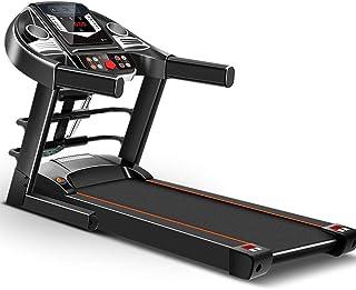 Nfudishpu Electric Treadmill Household Model Folding Silent Indoor Fitness Weight Loss Men and Women Small Mini (Black)