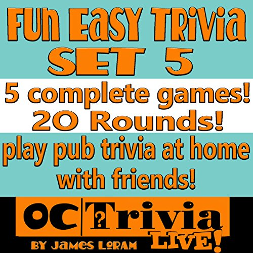 Fun Easy Trivia Set 5 audiobook cover art