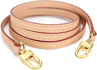 Vachetta Leather Long Cross Body Strap for Small Bags Pochette Mini NM Eva Favorite PM MM