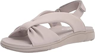 RYKA Women's Macy Slingbacks Sandal, Grey, 6.5 Wide