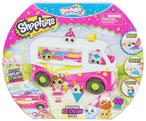 Tapa en el camión de helado de Beads y en el interior se acabarán las bandejas llenas de cuentas para palancar. Crea algo de crema de hielo sueños y amigos. También puede almacenar sus accesorios dentro del camión para mantener todo limpio y ordenado...