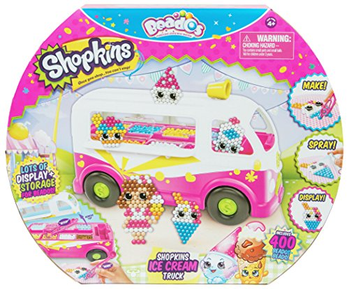 Beados Beado's 10787 Shopkins Ice Cream Van