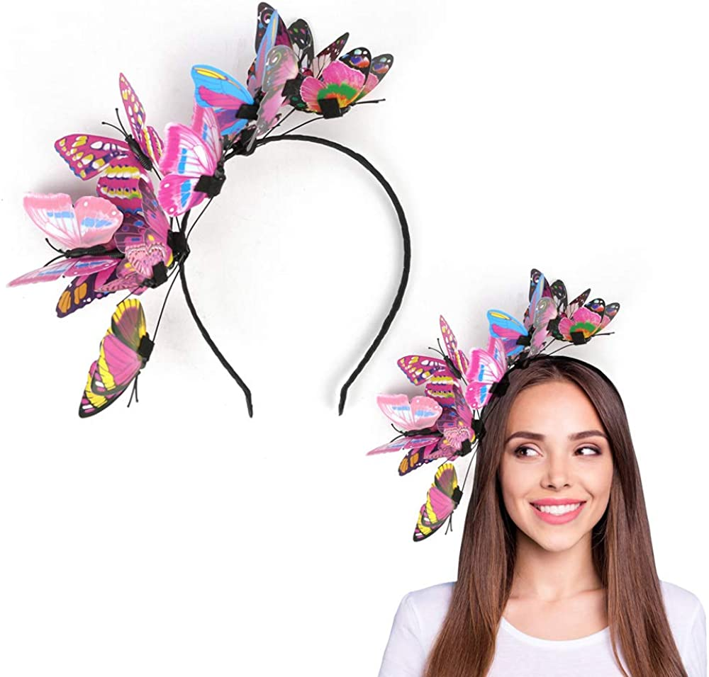 Max 89% OFF JIAHANG Butterfly Fascinator Hat Photography He Product Costume Festival