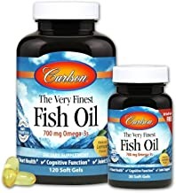 The Very Finest Fish Oil 700 Milligrams 120 + 30 free Sgels