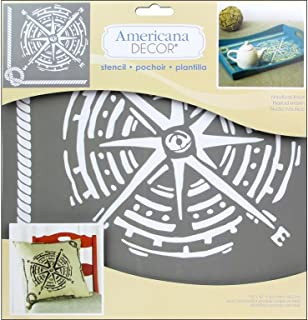 DecoArt Americana Decor Stencil Nautical Knot