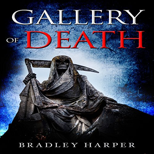 Gallery of Death audiobook cover art