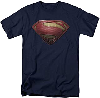 Superman Man of Steel Movie Shields T Shirt & Stickers
