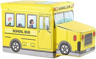 KPOON Boîte de Rangement pour Jouets pour Enfants Coffre à Jouets Pliable for Coffre et Coffre de Rangement for Filles et ...