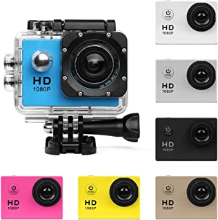 Action Camera HD 480P/720P/ Sports Cam - HD WiFi Underwater Camera Diving Waterproof Action Camcorder with Accessories for...
