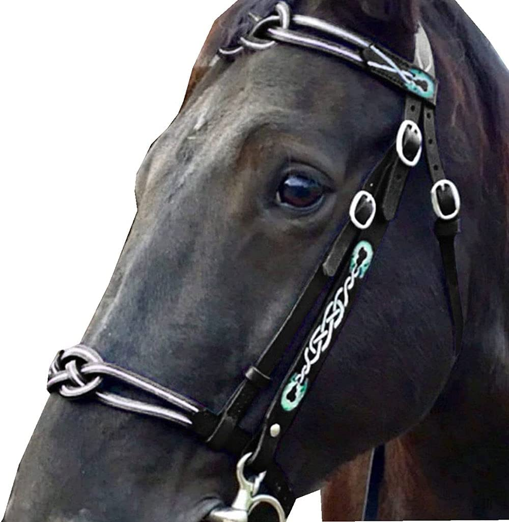 Horse Bridles Metal Leather Head B Strap Collar Luxury goods store Adjustable