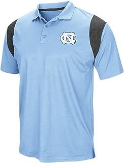 North Carolina Tarheels UNC Men's Polo Short Sleeve Polo Shirt (Large)