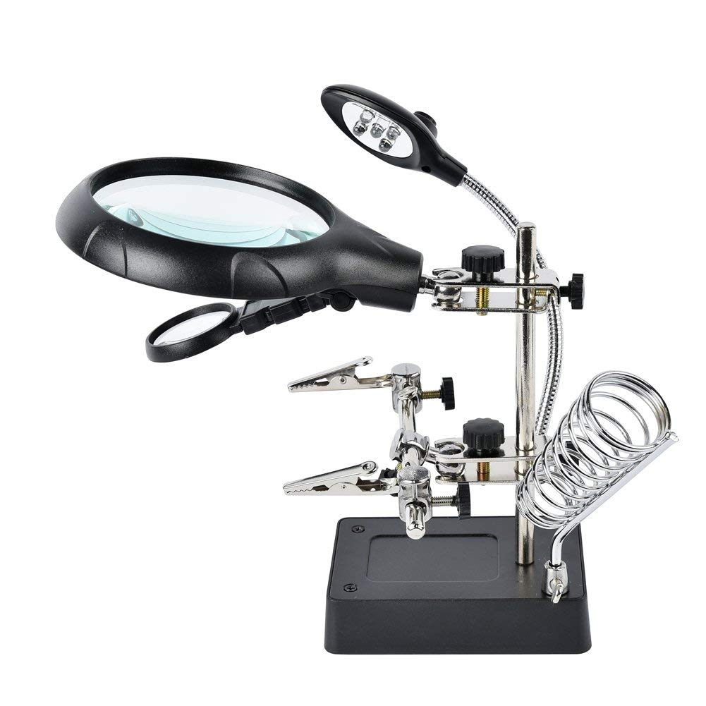 Dandelion Magnifier Alligator Auxiliary Magnifying