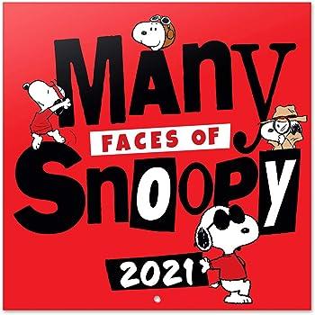 Amazon.com: Grupo Erik Official Snoopy 2021 Wall Calendar 11.8 x