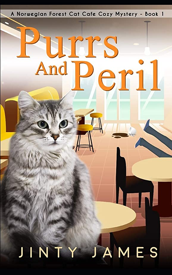 コンプリートギャラリー気晴らしPurrs and Peril: A Norwegian Forest Cat Café Cozy Mystery - Book 1
