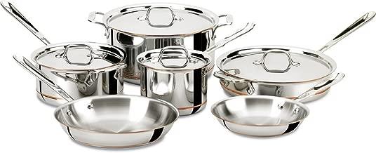 Best all-clad copper core 10-piece cookware set Reviews