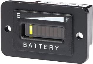 AIMILAR 36V Battery Indicator - 36 Volt LED Battery Gauge Meter for EZGO Golf Cart Trojan Batteries