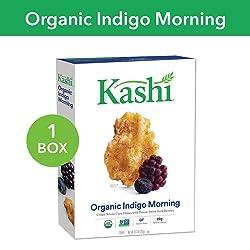 Kashi, Breakfast Cereal, Organic Indigo Morning, Gluten Free, Non-GMO Project Verified, 10.3 Ounce (