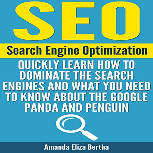 SEO: Search Engine Optimization audiobook cover art