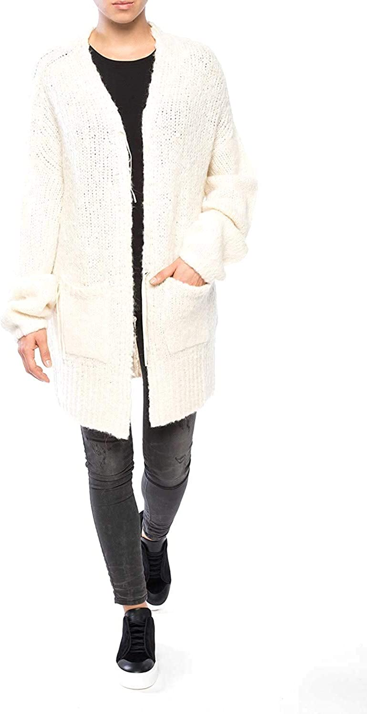 Diesel S Shapy Womens Cardigan Sweater Beige Size L