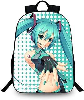 Cosstars Hatsune Miku Imagen Mochila de la Escuela Estudiante Bolsas Escolar Bolsa de Ocio Viaje Backpack /1
