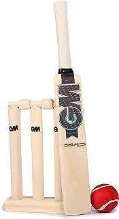 GM Cricket Unisex Child Diamond mini Cricket Set - Black/Blue/White, One Size