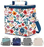 Simple Modern Insulated Adult Lunch Bag Tote Reusable Meal Container for Women, Men, Work, 4L Blakely, Florista