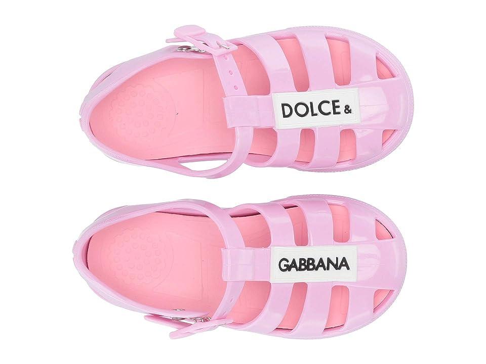 Dolce & Gabbana Kids Jellies (Toddler/Little Kid) (Pink) Boy