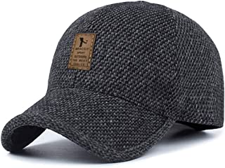 MRACSIY Berretti da Baseball Unisex Cappellini Invernali Cappelli per Circonferenza della Testa 56-60cm