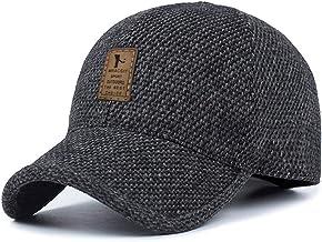 MRACSIY Gorra de béisbol Unisex Gorras de Invierno Sombreros para Circunferencia de la Cabeza 56-60cm