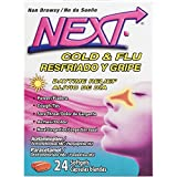 NEXT Cold & Flu Daytime Relief Softgels, 24 Count