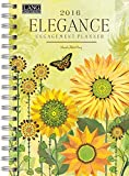 Lang Elegance 2016 Engagement Planner, Spiral Bound by Wendy Bentley, January to December 2016, 6.25 x 9 Inches (1011096)