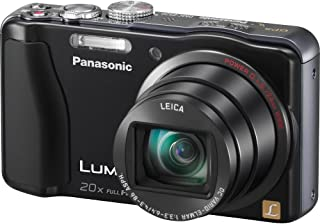 Panasonic Lumix ZS20 14.1 MP High Sensitivity MOS Digital Camera with 20x Optical Zoom (Black) (OLD MODEL)