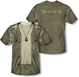 M.A.S.H. - Hawkeye Costume Tee (Front/Back Print) T-Shirt Size XXL