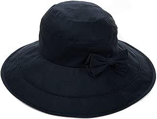 (シッギ)Siggi 紫外線99%カット 女優帽子 ツバ広ハット 取り外すあご紐 折りたたみ