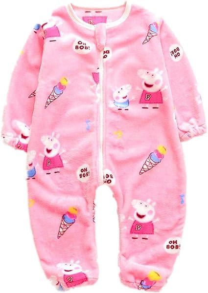 NIHAOA Pijama de bebé Babys Pijama de otoño e Invierno Dormir ...