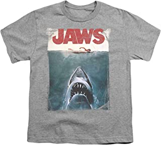 Jaws Shark Original Movie Poster Youth T Shirt & Stickers
