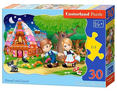 Castorland B-03532-1 - Puzzle Hänsel und Gretel 30 Teile