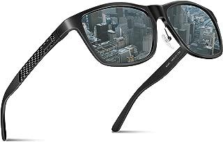 偏光サングラス ウェリントン 偏向レンズ 釣り ランニング ドライブ スポーツ 運動 アウトドア 軽量 UV400 紫外線カット ユニセックス ポーチセット JBHOO