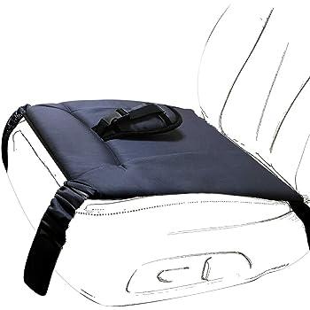 Wangjie マタニティーシートベルト 補助シートベルト 妊娠用 車用 マット シートベルト補助具 滑り止め シートベルト シート すべり止めつき 車安全ベルト 補助 調節可能