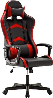 IntimaTe WM Heart Chaise Gaming Ergonomique, Fauteuil de Bureau Pivotant, Dossier Haut, Assise Rembourrée, avec Appui-tête...