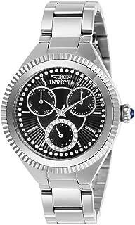 Women's Angel Quartz Watch with Stainless Steel Strap, Silver, 16 (Model: 28349)